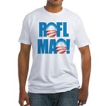Obama ROFLMAO Fitted T-Shirt