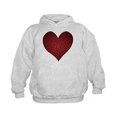 Heart is a Maze Hoodie