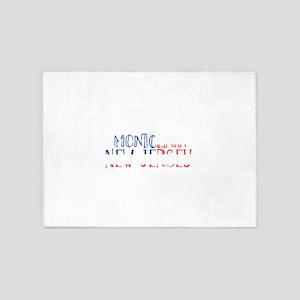 Montclair New Jersey 5'x7'Area Rug