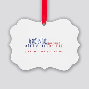 Montclair New Jersey Picture Ornament