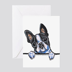 Curious Boston Greeting Card
