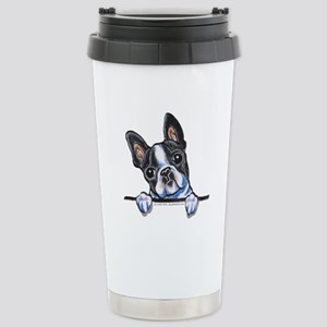 Curious Boston Stainless Steel Travel Mug