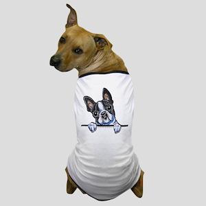 Curious Boston Dog T-Shirt
