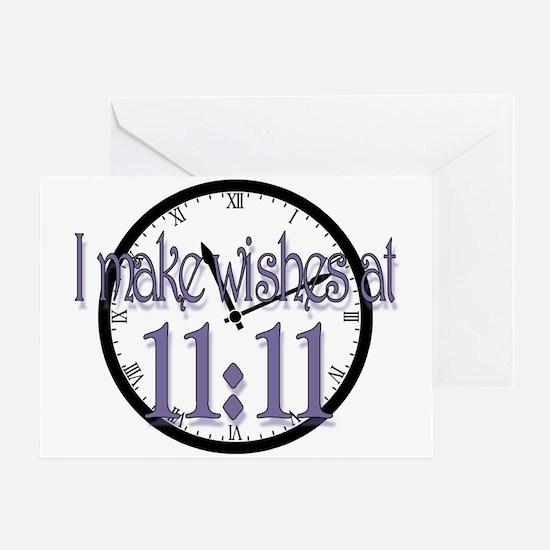 1111wish Greeting Cards