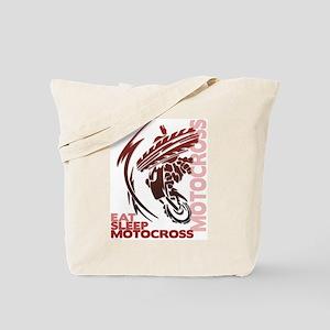 Eat Sleep Motocross Tote Bag