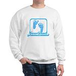 New Dad (blue feet) Sweatshirt
