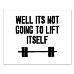 Lift itself Small Poster