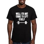 Lift itself Men's Fitted T-Shirt (dark)
