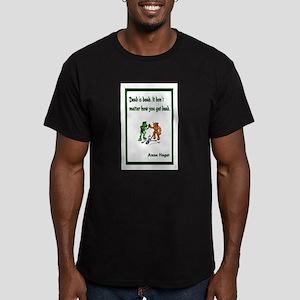 Anna's Dead is Dead Men's Fitted T-Shirt (dark)
