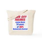 City Failures Tote Bag