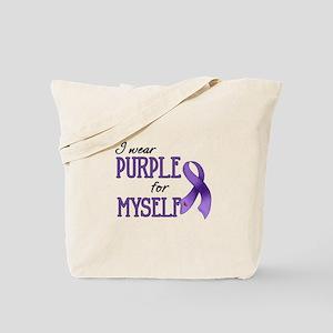 Wear Purple - Myself Tote Bag