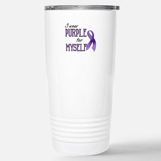 Wear Purple - Myself Stainless Steel Travel Mug