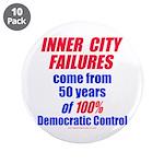 "City Failures 3.5"" Button (10 pack)"