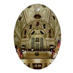 New Orleans Cathedral Oval Ornament