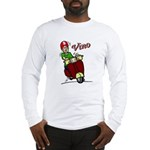 Motor Scooter Vino Long Sleeve T-Shirt