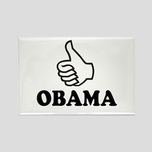 ObamaShops: Rectangle Magnet