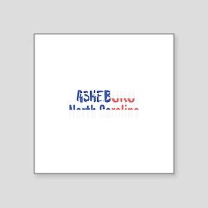 Asheboro North Carolina Sticker