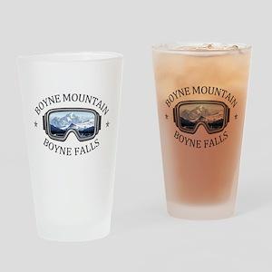 Boyne Mountain - Boyne Falls - Mi Drinking Glass