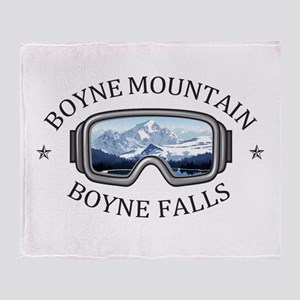 Boyne Mountain - Boyne Falls - Mic Throw Blanket