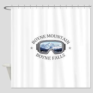 Boyne Mountain - Boyne Falls - Mi Shower Curtain