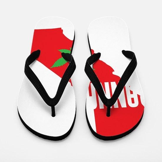 Cannafornia 1 Flip Flops