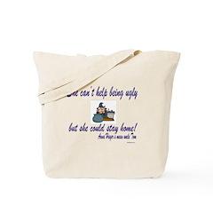 Ugly Woman Tote Bag