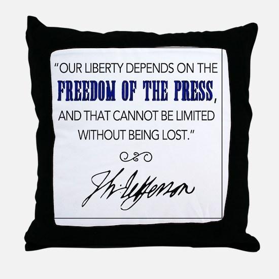 Cute Jefferson Throw Pillow
