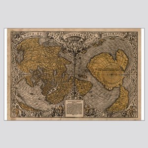 1531 World Map Large Poster