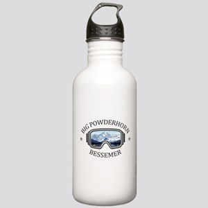 Big Powderhorn Ski Are Stainless Water Bottle 1.0L