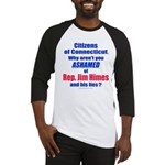 Rep. Jim Himes Baseball Jersey