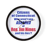 Rep. Jim Himes Wall Clock