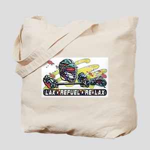 Lacrosse Refuel Re Lax Tote Bag