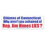 Rep. Jim Himes Bumper Sticker (50 pk)
