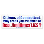 Rep. Jim Himes (Bumper Sticker)