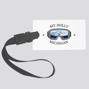 Mt. Holly Ski and Snowboard Reso Large Luggage Tag