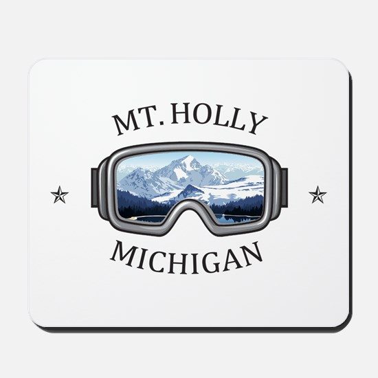 Mt. Holly Ski and Snowboard Resort - H Mousepad