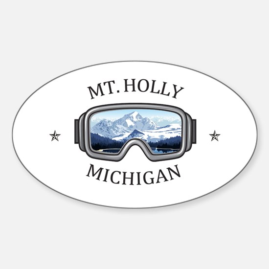 Mt. Holly Ski and Snowboard Resort - Hol Decal