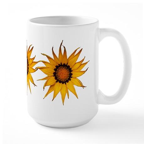 Gazania Daisy Flower ~ Wyldfyr Large Mug