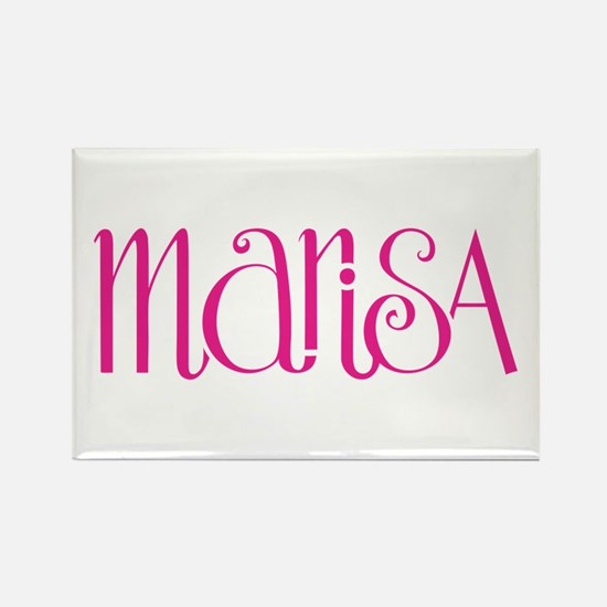 Marisa cherry pink Rectangle Magnet (10 pack)