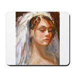 Lady With Veil Mousepad