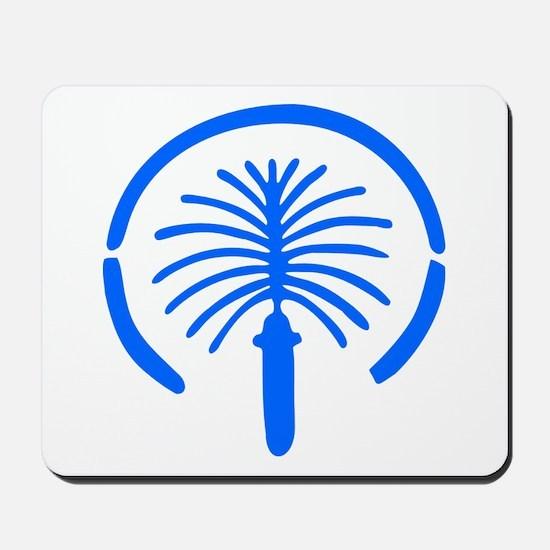 Palm Island - Dubai Mousepad