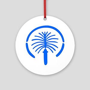 Palm Island - Dubai Ornament (Round)
