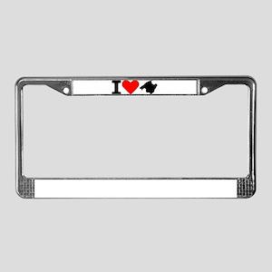 I love Majorca - Spain License Plate Frame