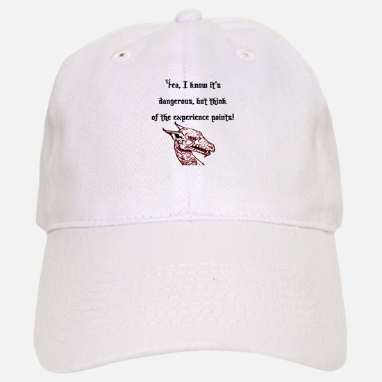 RPG Think of the experience points Baseball Baseball Cap