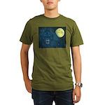 Guardian Lion Organic Men's T-Shirt (dark)