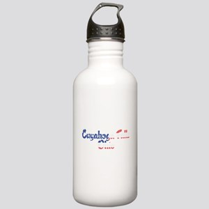 Cuyahoga Falls Ohio Stainless Water Bottle 1.0L