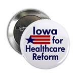 Iowa for Healthcare Reform Button