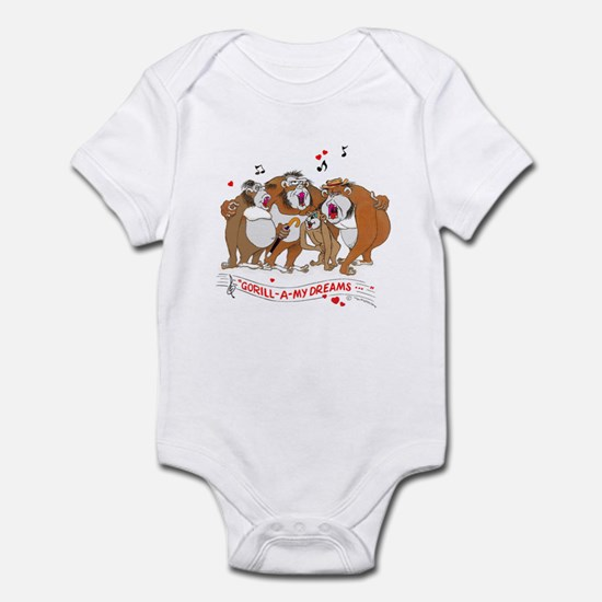 GOR-ILL-A my dreams. Infant Bodysuit