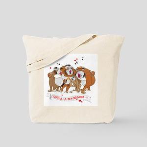 GOR-ILL-A my dreams. Tote Bag