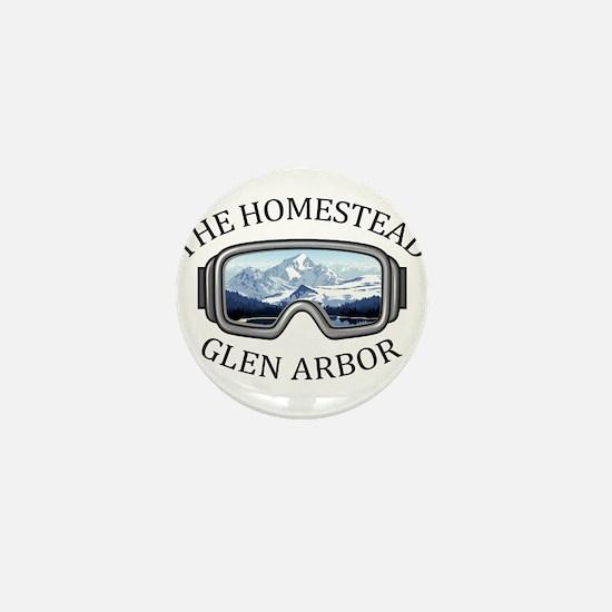 The Homestead - Glen Arbor - Michiga Mini Button